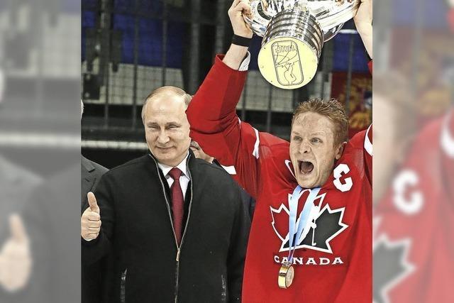 Kanada ist Eishockey-Weltmeister: Gratulation vom Kremlchef