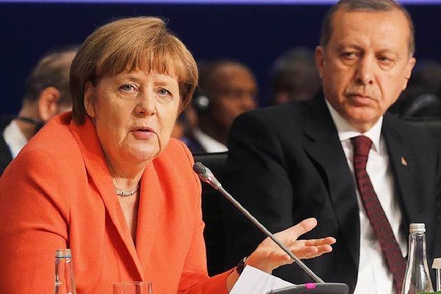 Merkel bezeichnet Termin für Visafreiheit als unhaltbar