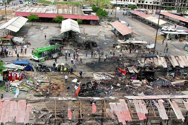 Anschläge auf Alawiten