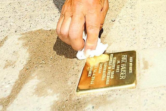 Tuttlingen lässt Stolpersteine verlegen