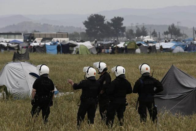 Flüchtlingslager in Idomeni wird geräumt