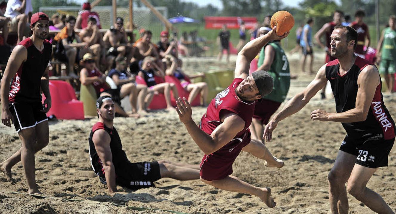 Sport und Spaß verbinden sich bei den Beach-Days in Altenheim.   | Foto: Bettina Schaller