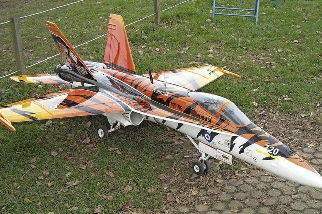 Modelflugverein Markgräflerland um und auf dem Gelände zwischen Müllheim und Neuenburg