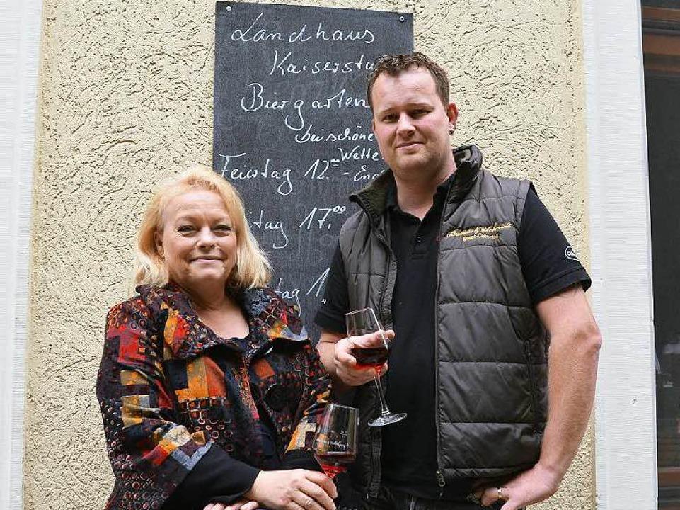 Elsbeth Trautwein hat ihr Restaurant an Stefan Schmidt verpachtet.    Foto: Gerold Zink