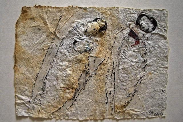Im Caritas-Tagungszentrum Freiburg zeigen vier Künstler aus der Region ihre Werke