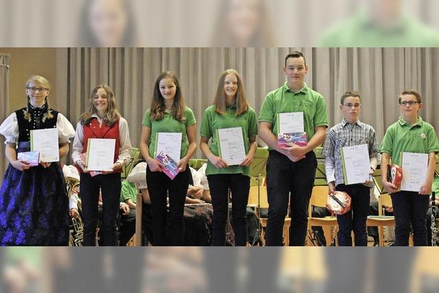 Erfolgreiche junge Musiker