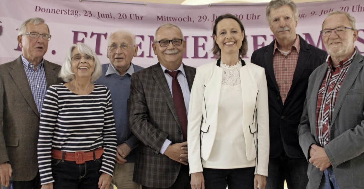 Die Macher des Ettenheimer Musiksommer...ucht, Wolfgang Ewald und Ernst Scholz   | Foto: Erika Sieberts