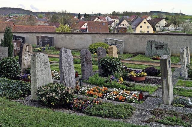 Gemeinderäte stimmen der Friedhofsgestaltung zu