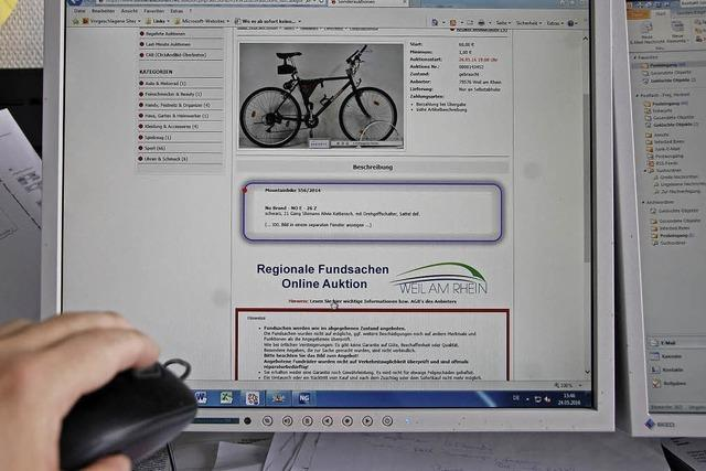 Die Onlineauktion von Fundsachen hat mittlerweile Eventcharakter
