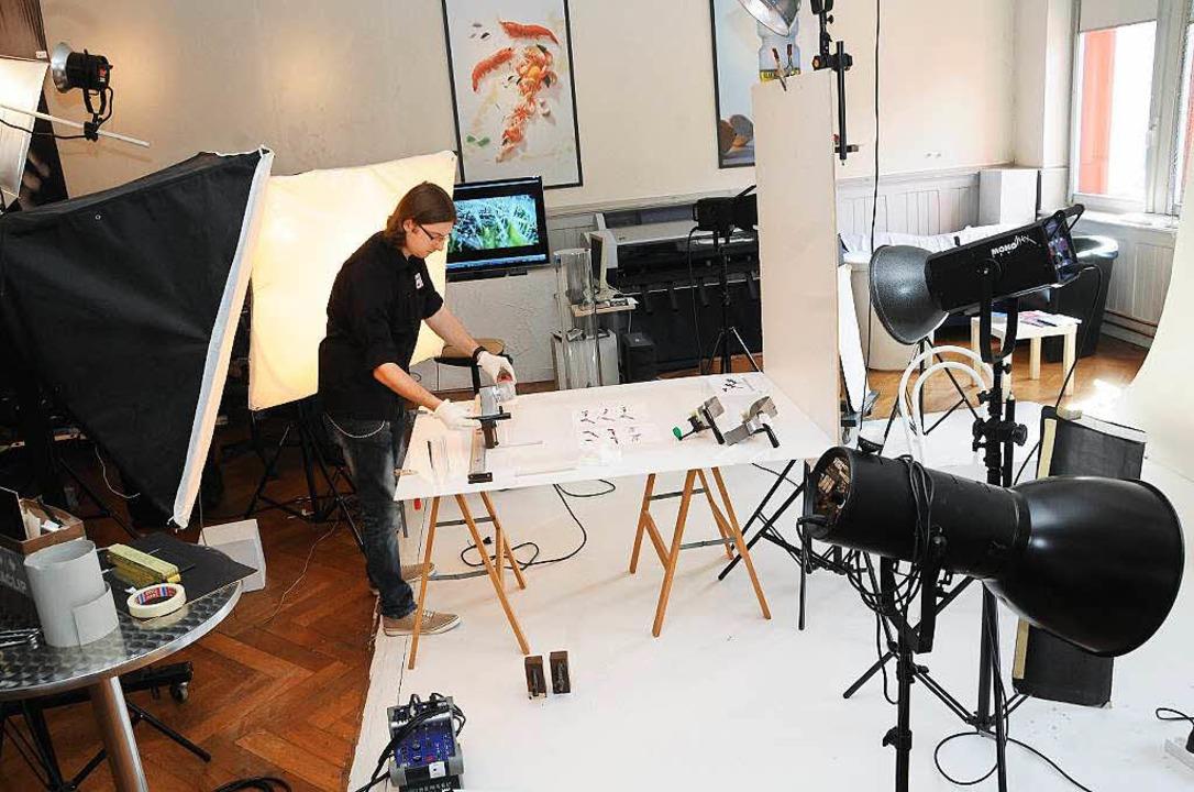 Ein Fotostudio ist heute im Ochsensaal untergebracht  | Foto: Robert Bergmann