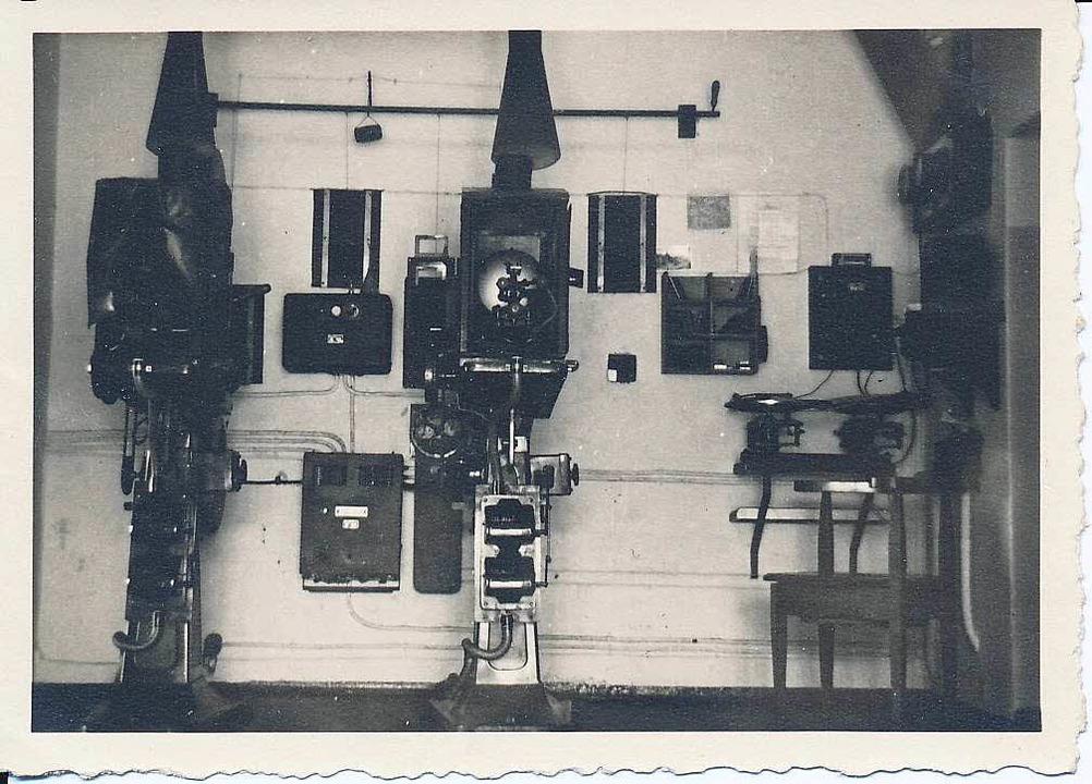 Die alten Projektoren sind längst abgebaut.  | Foto: Robert Bergmann