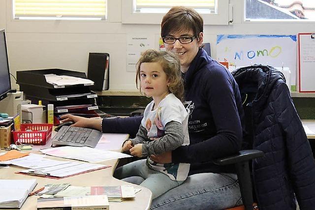 Freude im Haus der kleinen Forscher