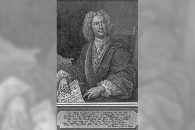 Kupferstecher Johann Andreas Pfeffel wurde in Mengen geboren