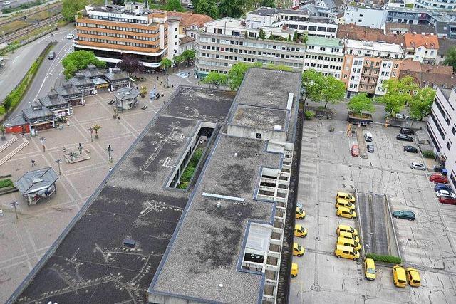 Pläne fürs Lörracher Postareal werden konkreter