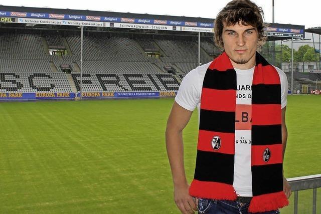 Caglar Söyüncü aus der Türkei kickt jetzt für den SC Freiburg