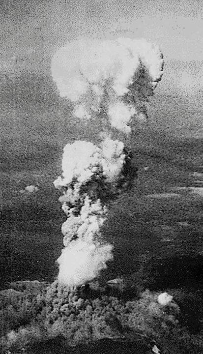 Atombombenangriff auf Hiroshima am 6. August 1945   | Foto: dpa