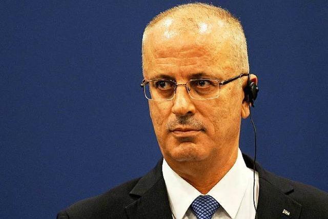 Palästinenser plädieren für Frankreichs Friedensplan