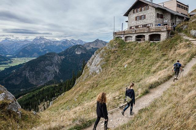 Von Hütte zu Hütte wandern wird beliebter