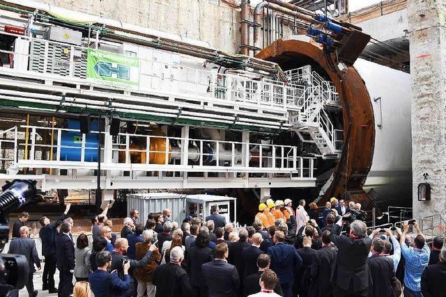 Deutsche Bahn gibt Startschuss für Rheintalbahntunnel Rastatt