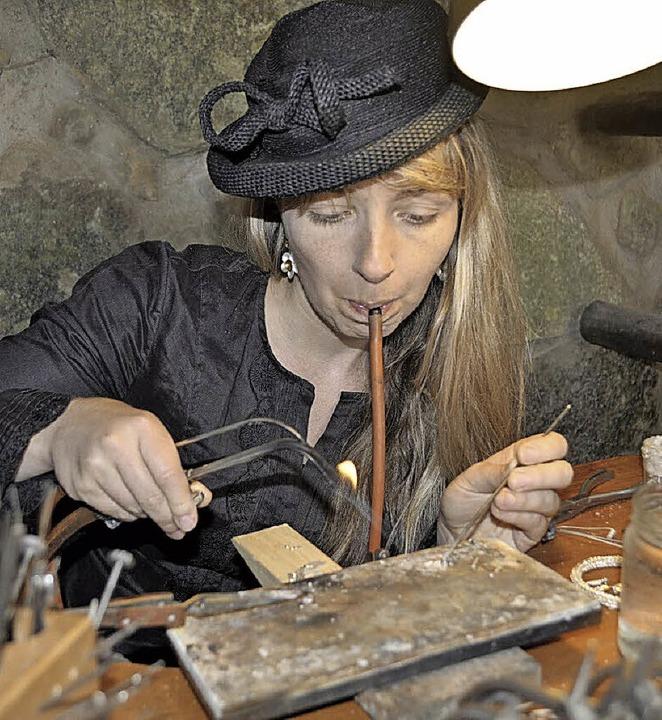 Handwerk und Kunst sind zu sehen.   | Foto:  ZVG
