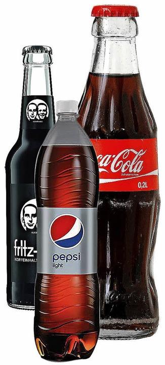 Colas sind beliebt, aber ungesund.   | Foto: bz