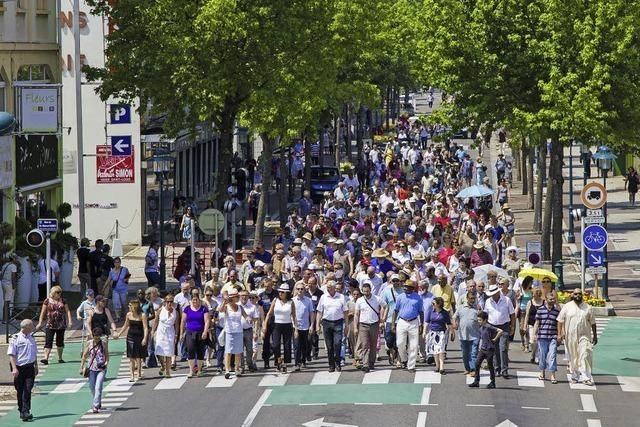 Religionsübergreifender Friedensmarsch mit Rahmenprogramm