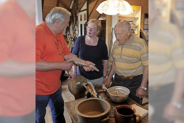 Staunen im Hohberger Heimatmuseum