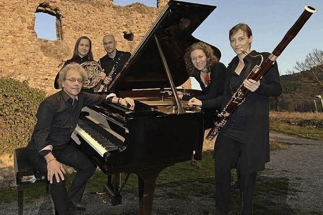 Das Quintetto Querceto spielt Mozart und Piazolla in Freiburg
