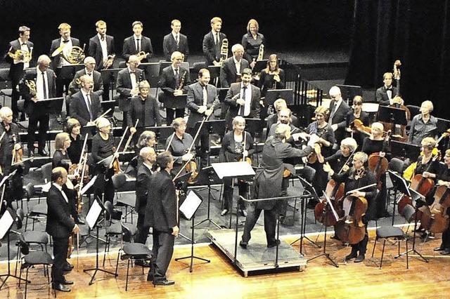 Oberrheinisches Sinfonieorchester gastiert im Rahmen der Schlosskonzerte in der Wehrer Stadtalle