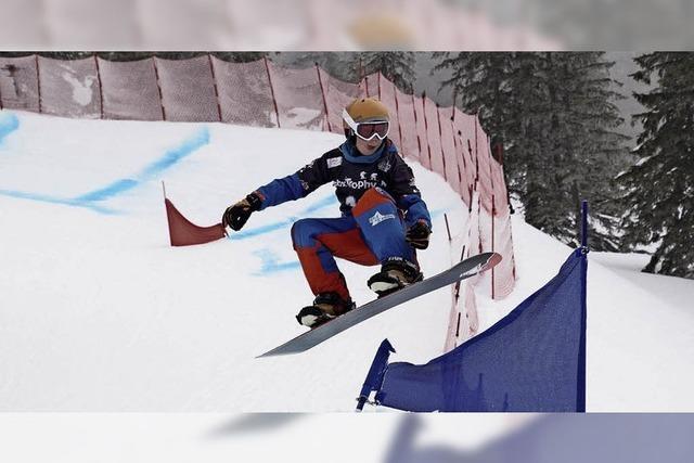 Leon Ulbricht ist einer der besten Nachwuchs-Snowboarder