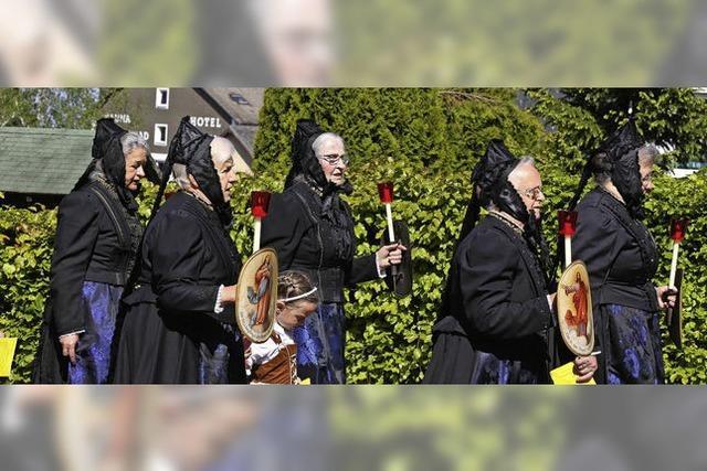 Prozession in St. Märgen
