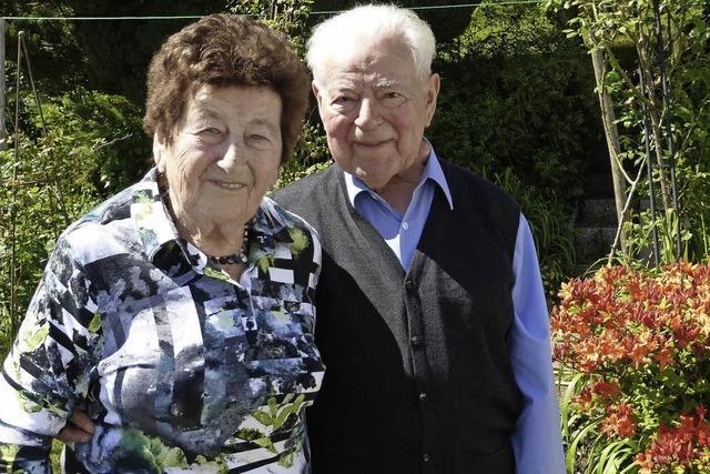 65 Jahre in Liebe und Treue vereint