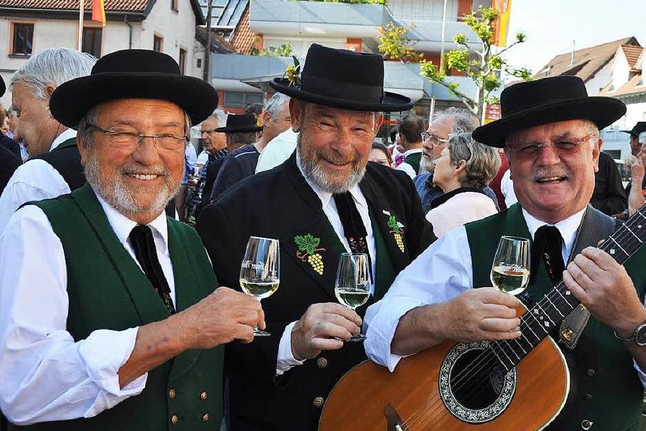 Ein Gläschen Wein kann nicht schaden... (Foto: Kai Kricheldorff)