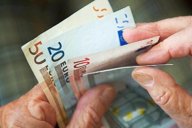 Zusatzeinkommen kann die Rente schmälern
