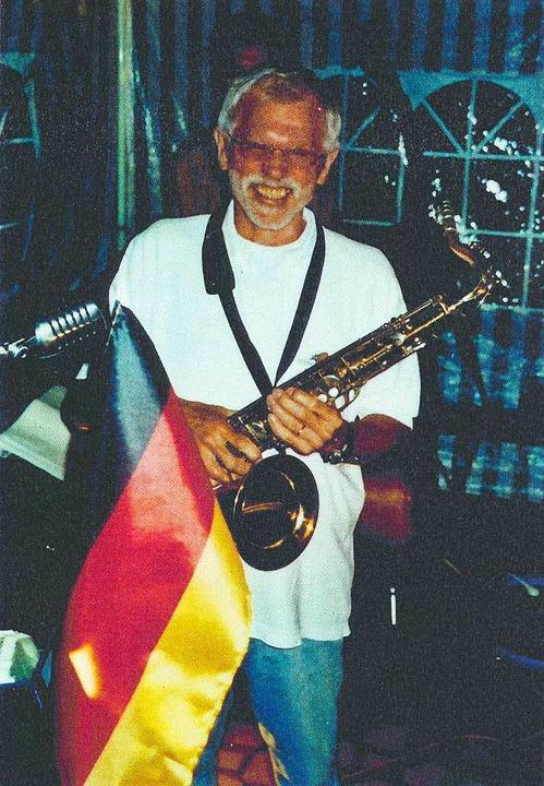 Banalität des Bösen: Manfred Seel mit seiner Jazz-Combo.  | Foto: dpa