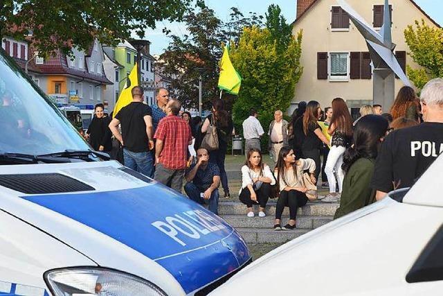 Gewalt nach Kurden-Demonstration