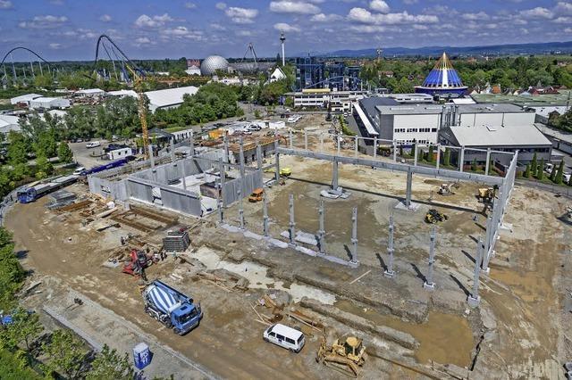 Neues Logistikzentrum im Europa-Park