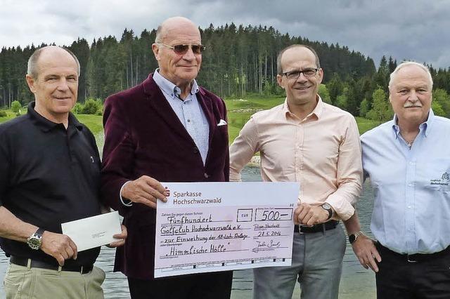 Golfclub Hochschwarzwald eröffnet 18-Loch-Anlage