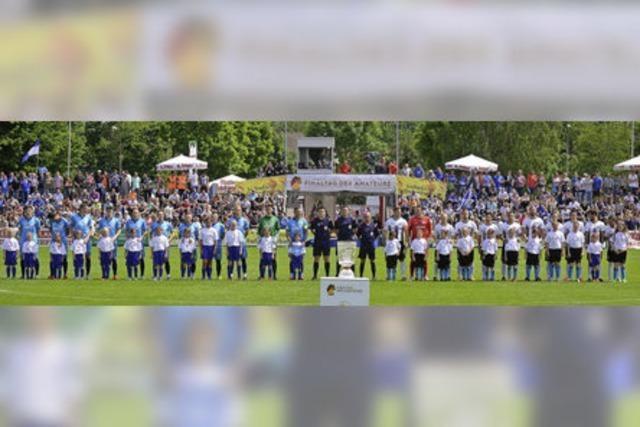 2300 Zuschauer kommen zum Pokalfinale ins Karl-Heitz-Stadion