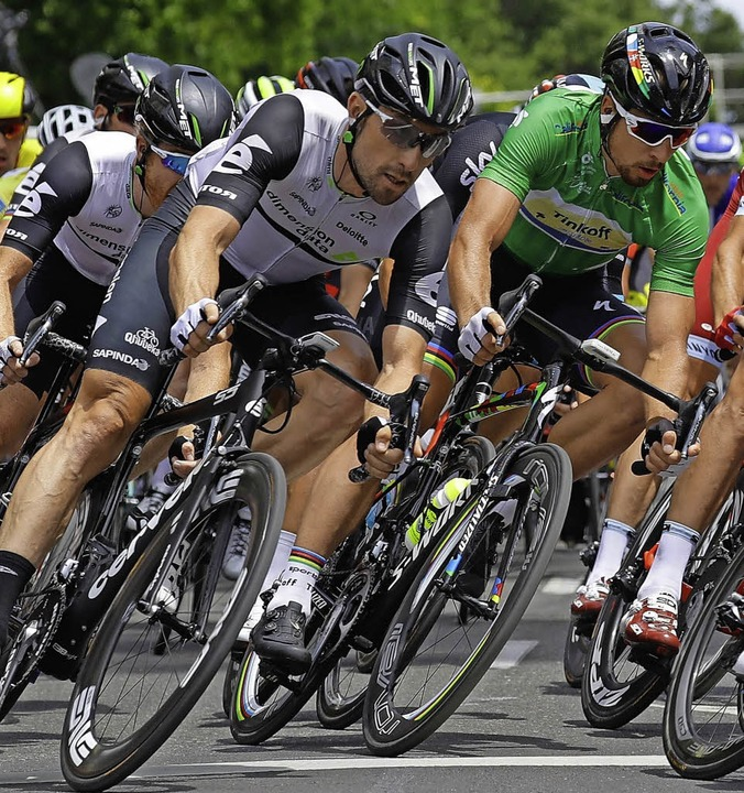 Der Radsport in Schräglage    | Foto: AFP