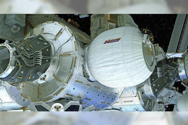 Warum das neue Wohnmodul der ISS wie ein Ballon aufgepumpt wurde