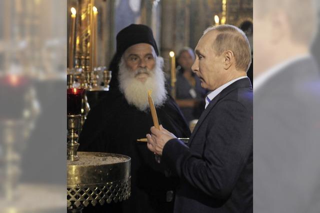Pilger Putin attackiert den Westen