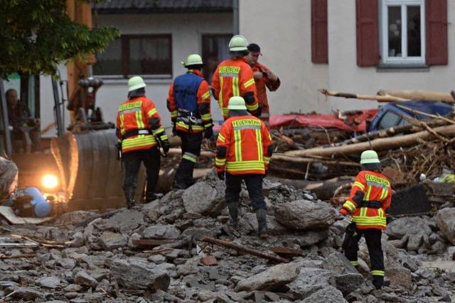 Vier Tote durch Überschwemmungen – Braunsbach besonders betroffen