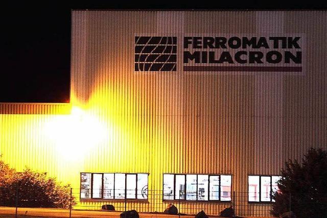 Demo: Beschäftigte bei Ferromatik kämpfen um ihre Arbeitsplätze