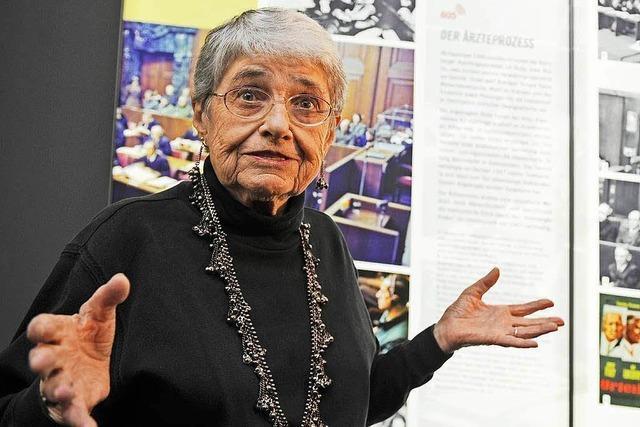 Holocaust-Überlebende Hedy Epstein ist mit 91 Jahren gestorben