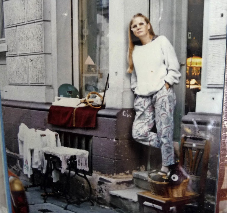Vor 35 Jahren eröffnete Maureen Winterhager ihren ersten Laden in Freiburg.  | Foto: Privat