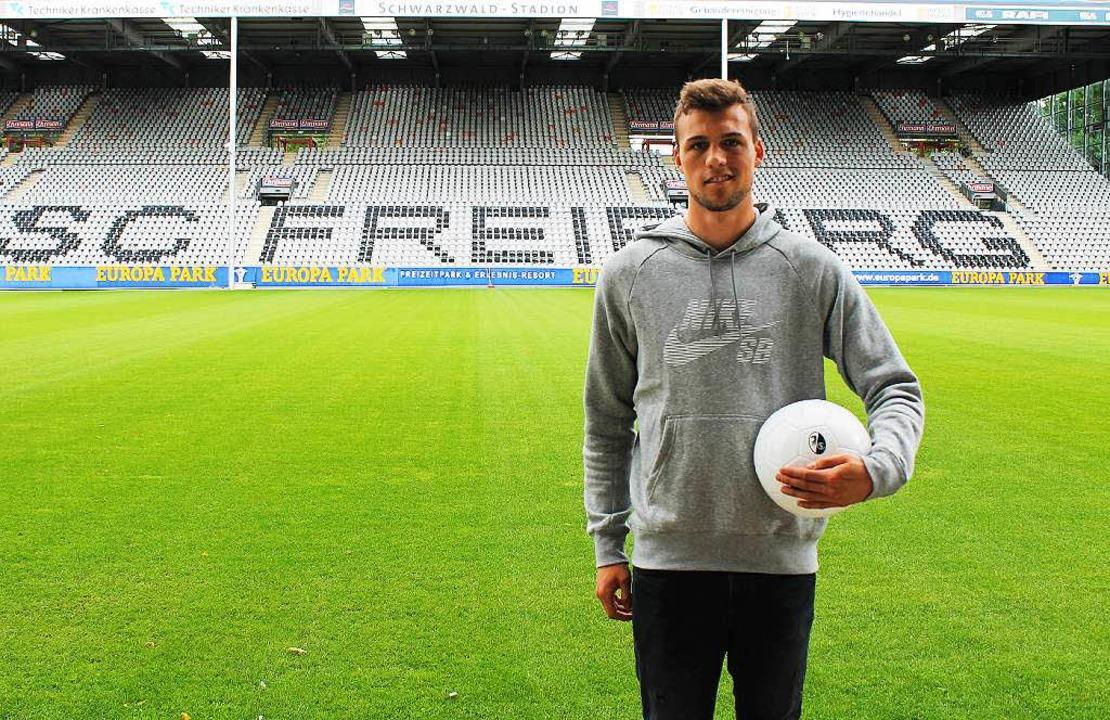 Nächster Neuzugang beim SC Freiburg: Jonas Meffert  | Foto: sc freiburg