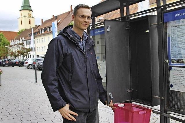 Fünf Kandidaten treten bei der Bürgermeisterwahl an