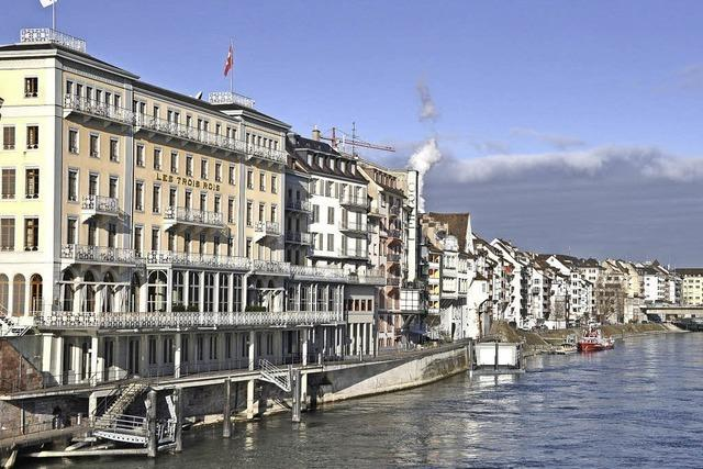 Basler Hotel Les Trois Rois an der Spitze