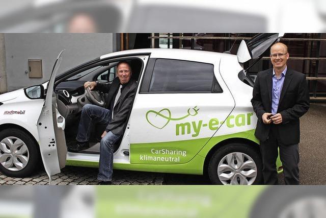 Zell auf dem Weg zum E-Car-Sharing